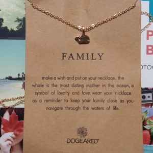 ❤️ Gold Dipped My Family Necklace ♥️